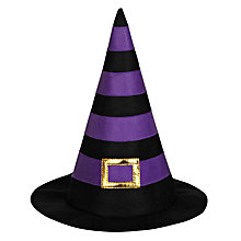 Buy John Lewis Felt Witch Hat, Purple Online at johnlewis.com