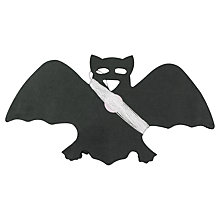 Buy Neviti Tissue Paper Bat Garland, Black Online at johnlewis.com