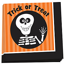 Buy Trick Or Treat Napkins, Pack of 20 Online at johnlewis.com