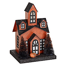 Buy John Lewis Pre-Lit Haunted House Online at johnlewis.com