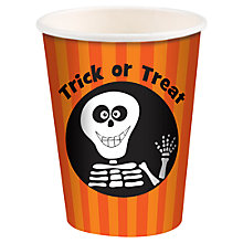 Buy Trick Or Treat Paper Cups, Pack of 8 Online at johnlewis.com