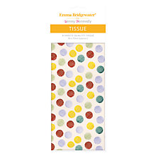Buy Emma Bridgewater Polka Hatch Tissue Paper Online at johnlewis.com