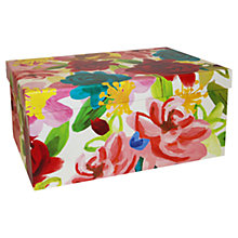 Buy Caroline Gardner Floral Gift Box, Extra Large Online at johnlewis.com