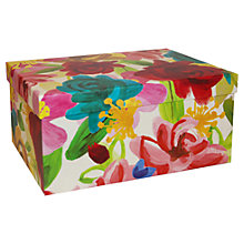 Buy Caroline Gardner Floral Gift Box, Large Online at johnlewis.com