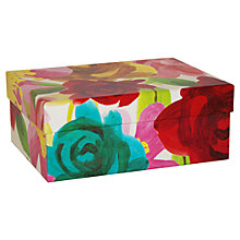 Buy Caroline Gardner Floral Gift Box,  Small Online at johnlewis.com