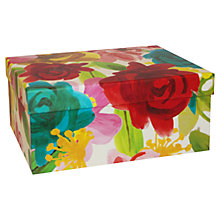 Buy Caroline Gardner Floral Gift Box, Medium Online at johnlewis.com