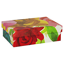 Buy Caroline Gardner Floral Gift Box, Extra Small Online at johnlewis.com