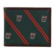 Buy Polo Ralph Lauren Silk Tie Billfold Leather Wallet, Green Online at johnlewis.com