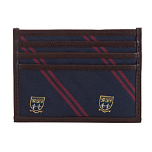 Buy Polo Ralph Lauren Silk Tie Card Case, Navy Online at johnlewis.com