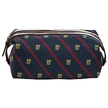 Buy Polo Ralph Lauren Tie Silk Preppy Wash Bag, Navy Online at johnlewis.com