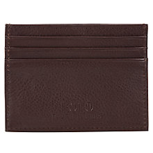 Buy Polo Ralph Lauren Pebble Leather Card Holder Online at johnlewis.com