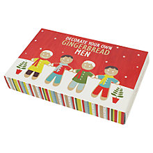 Buy Create A Treat Gingerbread Man Kit, 1.2kg Online at johnlewis.com