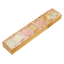 Buy Natalie Chocolates Sugared Marzipan Rolls, 165g Online at johnlewis.com