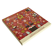 Buy Montezuma Milk and White Chocolate Advent Calendar, 240g Online at johnlewis.com