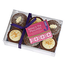 Buy James Mince Pie Praline Chocolates, 120g Online at johnlewis.com