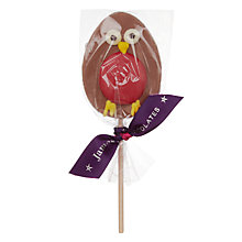 Buy James Chocolate Robin Lolly, 35g Online at johnlewis.com