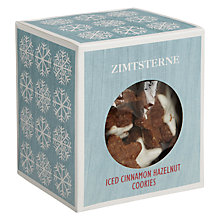 Buy Christmas Market Zimsterne Cinnamon Stars Biscuits, 150g Online at johnlewis.com