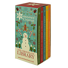 Buy Montezuma Christmas Chocolate Bar Library, Set of 5, 100g Online at johnlewis.com