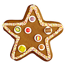 Buy Gingerbread Star, Medium Online at johnlewis.com