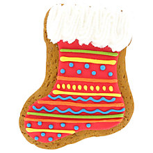 Buy Image on Food Stocking Gingerbread Biscuit, 60g Online at johnlewis.com