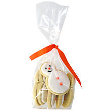 Buy Image on Food Bag of Snowmen Cookies, 125g Online at johnlewis.com