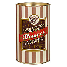 Buy Mr Stanley's Cocoa Dusted Almonds, 150g Online at johnlewis.com