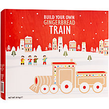 Buy Build Your Own Gingerbread Train, 830g Online at johnlewis.com
