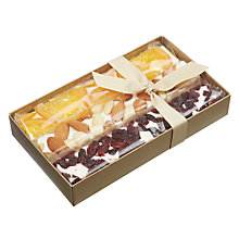 Buy Natalie Chocolates Trio of Fruit Nougat in Wooden Box, 300g Online at johnlewis.com