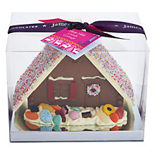 Buy James Chocolate Candy Cottage, 300g Online at johnlewis.com