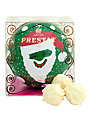 Prestat Santa Bauble, Green, 60g