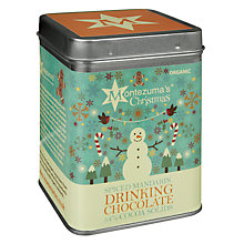 Buy Montezuma Spice Mandarin Hot Chocolate, 250g Online at johnlewis.com