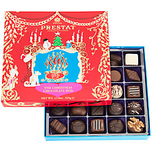Buy Prestat Christmas Chocolate Box, Red, 325g Online at johnlewis.com