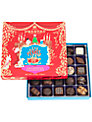 Prestat Christmas Chocolate Box, Red, 325g