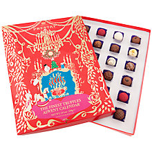Buy Prestat The Finest Truffles Advent Calendar Chocolate, 320g Online at johnlewis.com