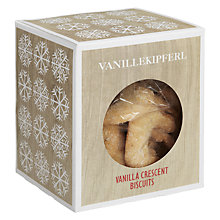 Buy Christmas Market Vanillekipferl Vanilla Biscuits, 150g Online at johnlewis.com