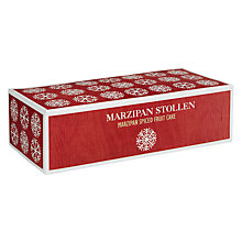 Buy Christmas Market Marzipan Stollen Cake, 500g Online at johnlewis.com