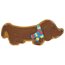 Buy Image on Food Sausage Dog Gingerbread, 50g Online at johnlewis.com
