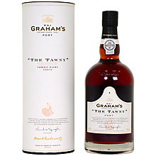 Buy Graham's 'The Tawny' Port in a Tube, 75cl Online at johnlewis.com