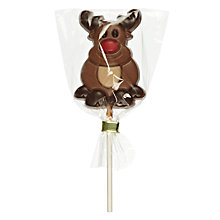 Buy Natalies Chocolates Milk Chocolate Reindeer Lolly, 35g Online at johnlewis.com