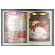 Buy Crabtree & Evelyn Strawberry Indulgence Preserve and Biscuit Gift Set Online at johnlewis.com