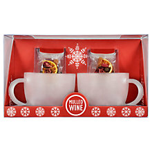 Buy Mulled Wine Mug Set Online at johnlewis.com