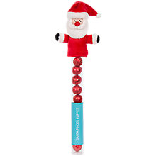 Buy Santa Finger Puppet with Milk Chocolates, 50g Online at johnlewis.com