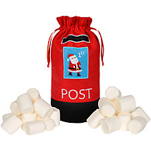 Buy Post Bag with Giant Marshmallows, 400g Online at johnlewis.com