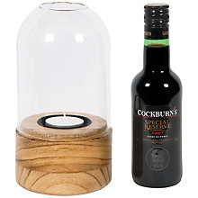 Buy Cockburn's Port in Glass Lantern, 20cl Online at johnlewis.com