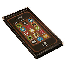 Buy Natalie Chocolates Milk Chocolate Black iPhone, 40g Online at johnlewis.com