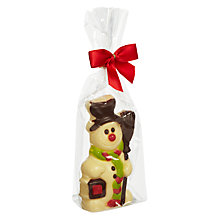 Buy Natalies Chocolate White Chocolate Snowman, 60g Online at johnlewis.com