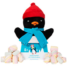 Buy Penguin Hand Puppet with Marshmallows, 50g Online at johnlewis.com