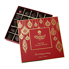 Buy Charbonnel et Walker Dark Chocolate Christmas Selection Box, 310g Online at johnlewis.com