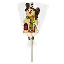 Buy Natalie White Chocolate Snowman Lolly, 35g Online at johnlewis.com