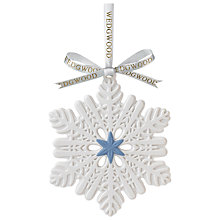 Buy Wedgwood Blue Star and Snowflake Decoration Online at johnlewis.com